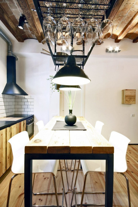 Upcycling industriel à Madrid | PLANETE DECO a homes world | Decorations | Scoop.it