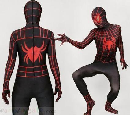 Black And Red Stripe Spiderman Lycra Spandex Zentai Suit free shipping - wholesale Lycra Spandex Zentai Suits - wholesale Catsuits & Zentai - CosplayGate.Com | spiderman costume,spiderman costumes | Scoop.it