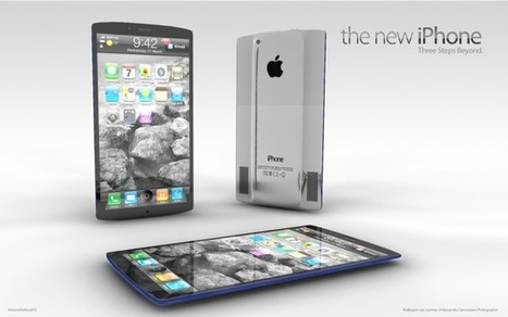 A great 4.6-inch iPhone Concept Design by Antonio De Rosa | Gadgets I lust for | Scoop.it