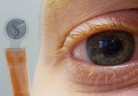 Científicos belgas crean micropantallas circulares para lentillas de realidad aumentada | Salud Visual 2.0 | Scoop.it
