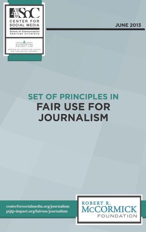 Set of Principles in Fair Use for Journalism   Content Marketing Editors Rundown   Scoop.it