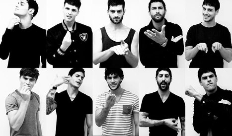 Learn Italian Hand Gestures with male models | art news | Scoop.it