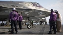 Premier décollage sur tremplin pour le F-35B | Veille de l'industrie aéronautique et spatiale - Salon du Bourget | Scoop.it