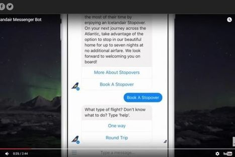 Icelandair is now offering flight bookings through Facebook Messenger - Tech News | The Star Online | e-commerce & social media | Scoop.it