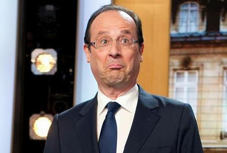 François Hollande reçoit le prix du « pire politicien au monde » par un média américain | Cours particuliers de français à domicile | Scoop.it