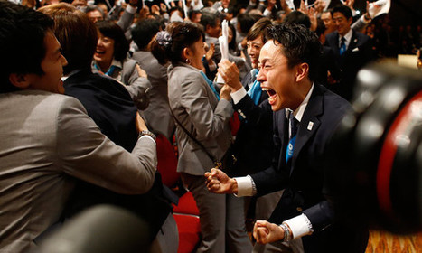 Tokyo wins race to host 2020 Olympic Games | 2020 Summer Olympics decision play | Scoop.it