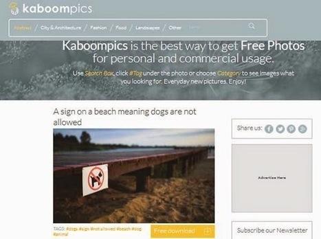 Une autre banque d'images libres et gratuites en hautes résolutions | E-learning, TICE et FLE | Scoop.it