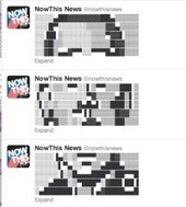 NowThis News Goes Retro, Narrates the Election With Twitter ASCII Art - Betabeat | ASCII Art | Scoop.it