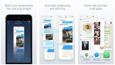 Tres alternativas para unir varias capturas de pantalla desde tu smartphone | TIC - Recull de consells i recursos | Scoop.it