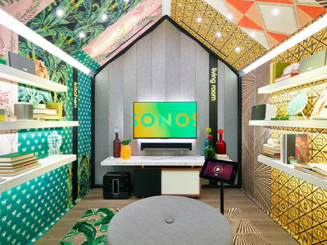 Sonos Opens Their First Retail Store in SoHo - Design Milk | Home Automation | Scoop.it