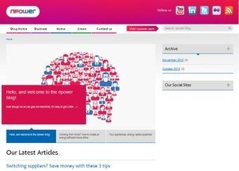 Npower lance un hub social 'one stop'   La Revue Webmarketing   Scoop.it