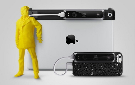 3D Systems Now Offers iSense 3D Scanner for iPhone 6 | FabLab - DIY - 3D printing- Maker | Scoop.it