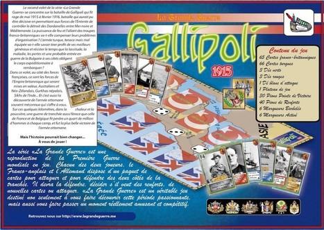 Vénissieux : une classe de collège crée un jeu de stratégie sur les Dardanelles - SAM2G | histoire | Scoop.it