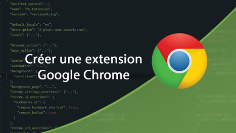 Tutoriel Vidéo Google #Chrome Créer une extension | Time to Learn | Scoop.it