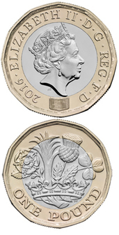 New pound resists faking - Numismatic News | Numismatic | Scoop.it