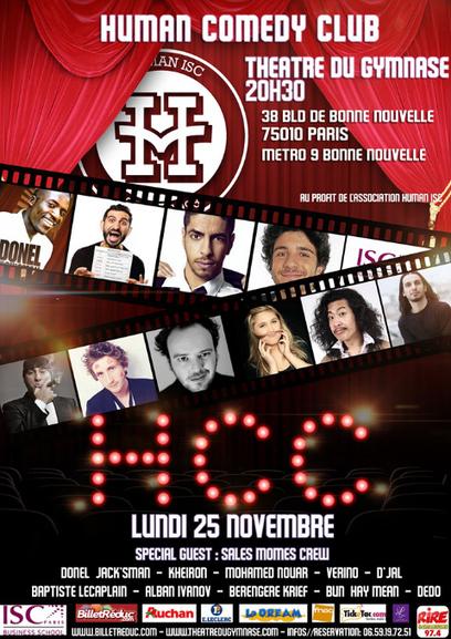 The Human Comedy Club : Du rire pour la bonne cause | Concours d'humour | Scoop.it