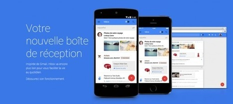 Google nous présente sa nouvelle messagerie : Inbox | 100% e-Media | Scoop.it