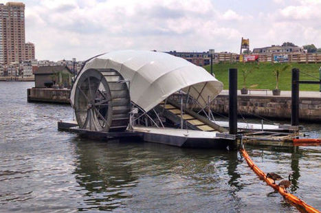 This water wheel is the most promising solution to ocean plastic (ScienceAlert) | Inventions that makes a difference | Scoop.it