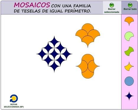 Diseñando mosaicos con una familia de teselas isoperimétricas | RIATE | Scoop.it