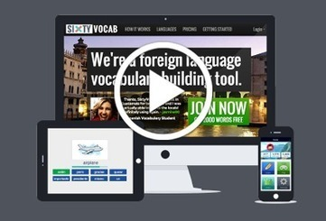 Foreign language vocabulary builder games for teachers, students, Parents and Ex pats | Sixty Vocab | BLENDED LANGUAGE LEARNING | Scoop.it