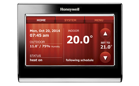 Honeywell turns up the heat on Google Nest with voice-controlled thermostat - Telegraph | Innovate | Scoop.it
