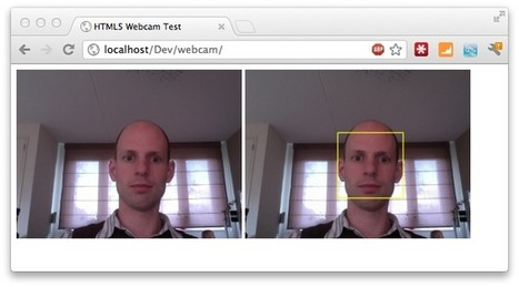 Face Detection using HTML5, Javascript, Webrtc, Websockets, Jetty and OpenCV | UX Design | Scoop.it