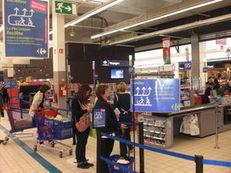 La file d'attente unique séduit les clients de Carrefour | Be Marketing 3.0 | Scoop.it