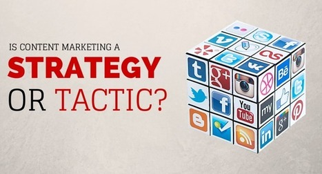 Is Content Marketing A Strategy Or A Tactic? | MarketingHits | Scoop.it