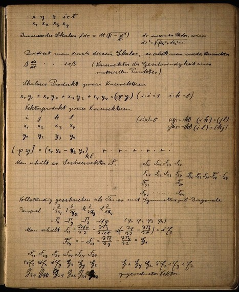 Einstein's Zurich Notebook | Science & Knowledge | Scoop.it