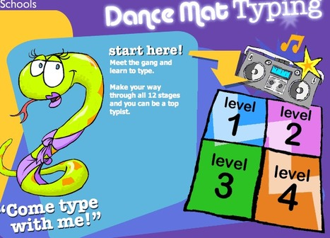 BBC - Schools - Dance Mat Typing | Technology in Education | Scoop.it