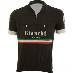 Bianchi Milano Hozan jersey (black) - Vintage Velo | Vintage Velo News | Scoop.it