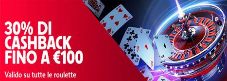 Richiesta 30% cashback fino a € 100 | Online Slots | Scoop.it