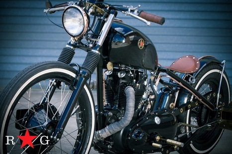 Triumph Bobber | RedStar - Grease n Gasoline | Vale Life... | Scoop.it
