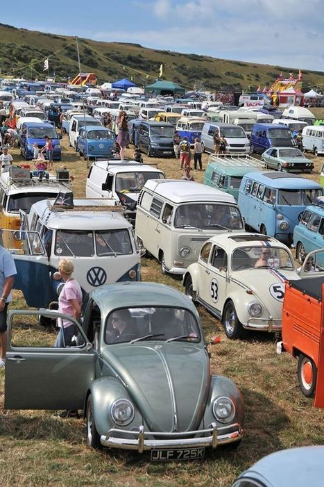 V-Dub Island revs up for July - Isle of Wight County Press | Campervans News | Scoop.it