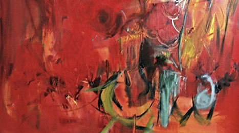 Ren Crawford Shares Magic and Healing in Abstract Paintings - Manhattan Arts International | Art Career Success | Scoop.it