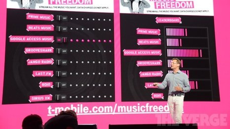 T-Mobile's 'Music Freedom' is a great feature — and a huge problem | Radio 2.0 (En & Fr) | Scoop.it