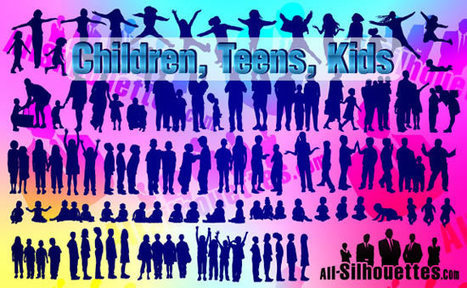 Over 2100 FREE High Resolution People Silhouettes | IKT och iPad i undervisningen | Scoop.it