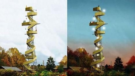 Des pylônes électriques reconvertis en aires de pique-nique   Eco-conception   Scoop.it