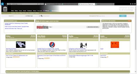 INTERNET ARCHIVE   buscadores de internet   Scoop.it