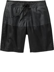 "Men's Color-Block Board Shorts (10"") | Old Navy | fashion | Scoop.it"