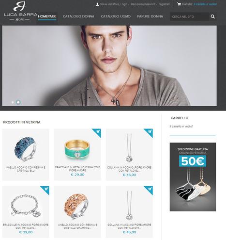 La vetrina della gioielleria online Luca Barra? Una tentazione per la primavera!   Moda e accessori   Scoop.it