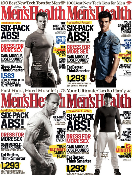 Update: Men's Health Stopped Writing New Cover Lines Years Ago | Media Representation | Scoop.it