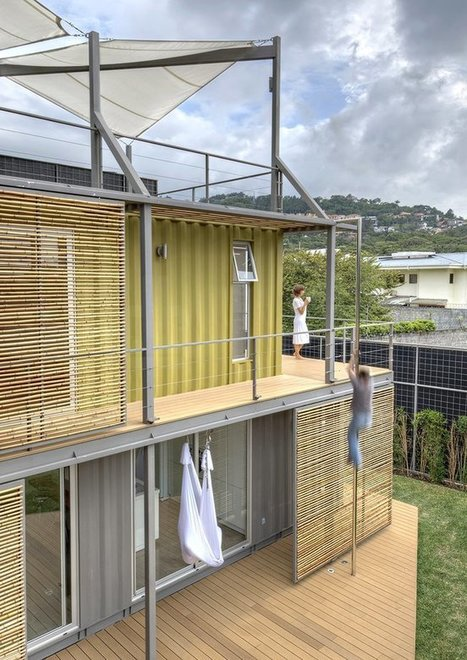 """Casa Incubo shipping container house is called an """"icon of sustainability."""" 