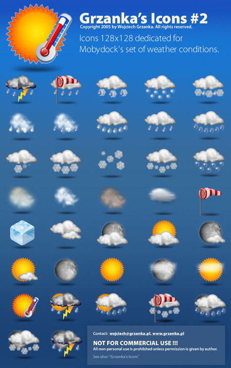Freebies - Free Weather Icons with Flat and Long Shadow Theme | Tutorial Lounge | Freebies | Scoop.it
