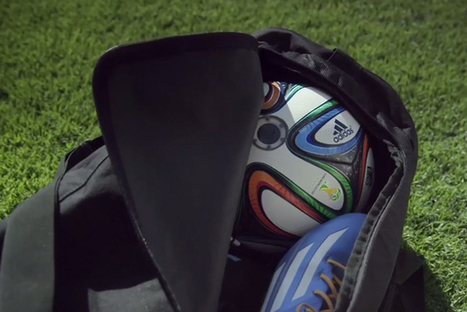 adidas Soccer Ball With Embedded Cameras Will Capture All The World Cup Action | Sport innovation | Scoop.it