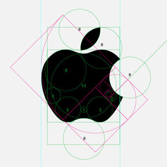Geometry of the Apple logo | Creative Art and Design! | Scoop.it