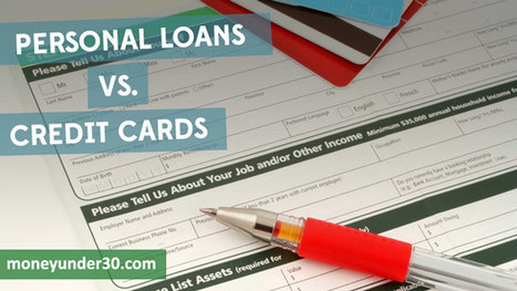 Personal Loans Vs Credit Cards: When To Use A Loan Instead Of Plastic | Alternative Lending | Scoop.it