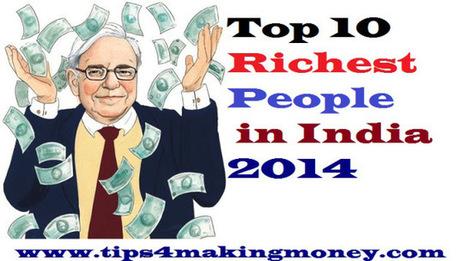 Top 10 Richest People in India 2014 | Top 10 | Scoop.it