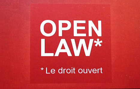 Open Law : un modèle exemplaire de PARTENARIAT Public-Privé-Communs | SIVVA | Scoop.it