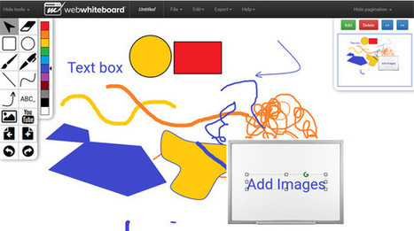 Webwhiteboard - An Online Whiteboard in your Browser | Edtech PK-12 | Scoop.it